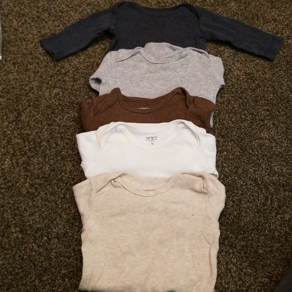 Carter's Other - Long sleeve bodysuits